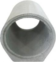 Rura betonowa P + W ze stopką