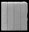 Obrzeże palisadowe prostokątne